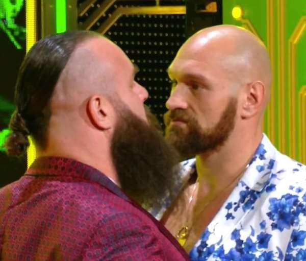 Tyson Fury vs Braun Strowman WWE Fight Confirmed For Saudi Arabia