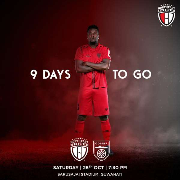 Asamoah Gyan In Contention To Mark NorthEast United Debut Against Odisha FC