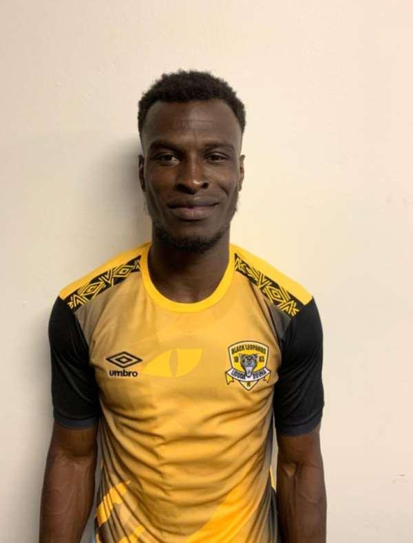South African Side Black Leopards Sign Edwin Gyimah