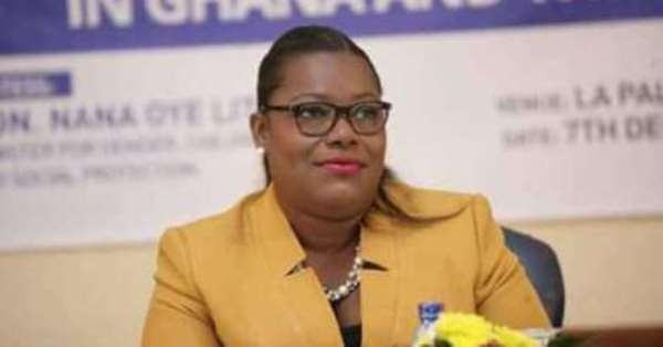 Nana Oye Lithur Rallies Support For The Aged