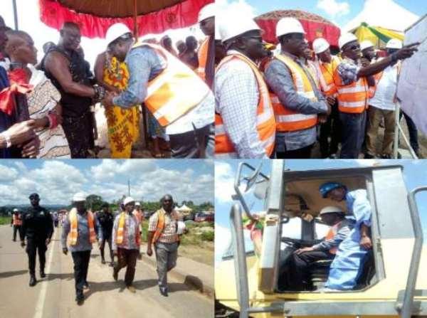 Government Moves To Complete 32 Kilometre Kwafokrom-Apedwa Dual Lane