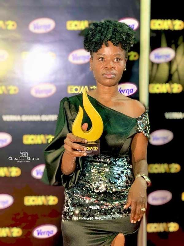 Ohemaa Woyeje Wins Radio Personality Of The Year Award