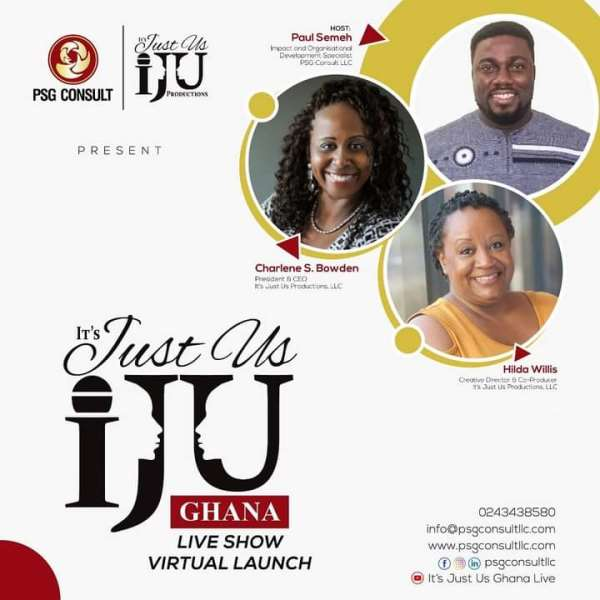 It's Just Us Ghana Live Show: Bridging The Gap Between Africans At Home And Africans In The Diaspora