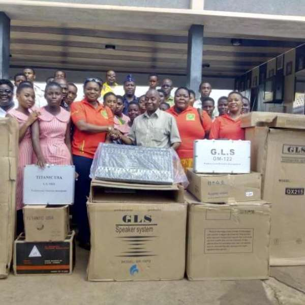 Mawuli School Gets Support From OMSU 1986 Group