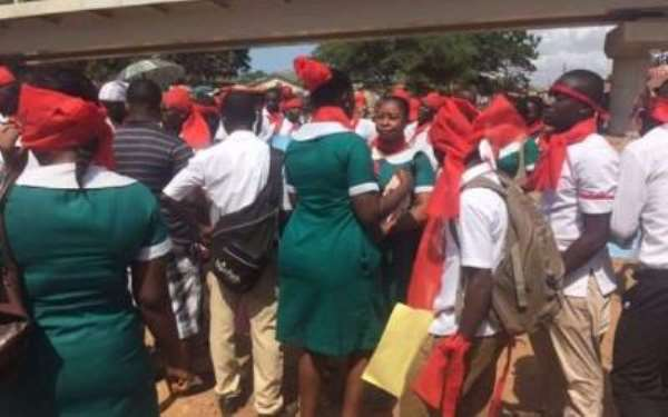 Gbewaa University Accused Of 'Stealing' Trainee Allowance