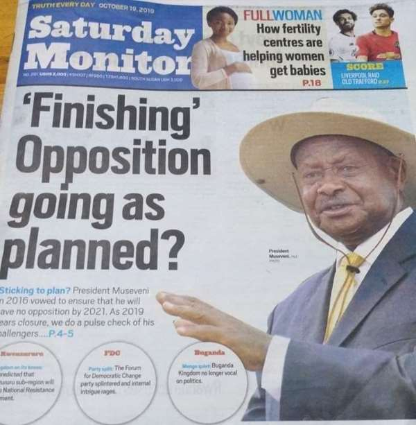 Bobi Is Just A Person Of Interest To Museveni And The Opposition Is Weak!