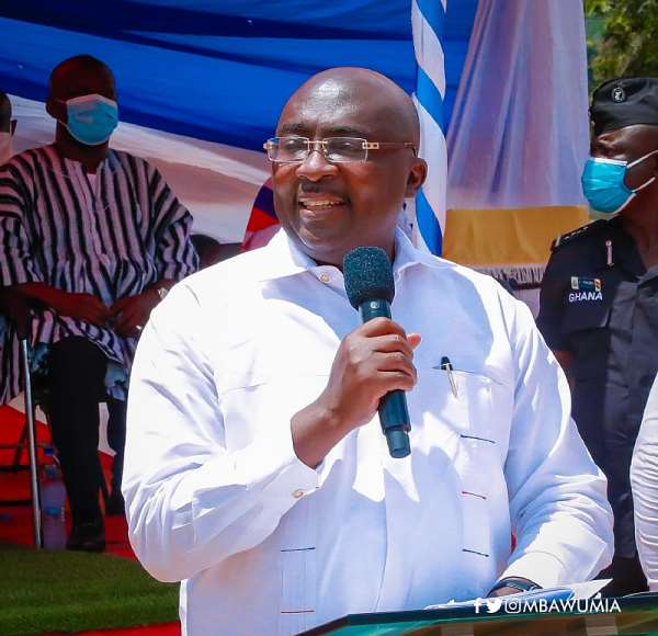 We're Investing Massively In Infrastructure; Not Rearing Flying Guinea Fowls - Bawumia Replies Mahama
