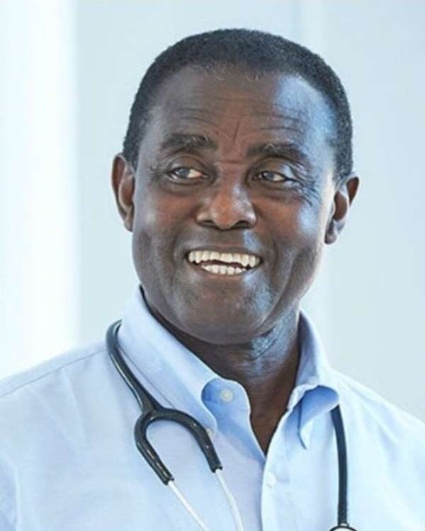 Prof. Kwaku Ohene-Frempong - President of Sickle Cell Foundation of Ghana