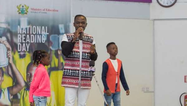 Okyeame Kwame's Kids Embark On Reading Project With Song