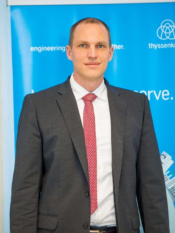 Dr Philipp Nellessen, Chief Executive Officer of thyssenkrupp Industrial Solutions in the Sub-Saharan Africa.
