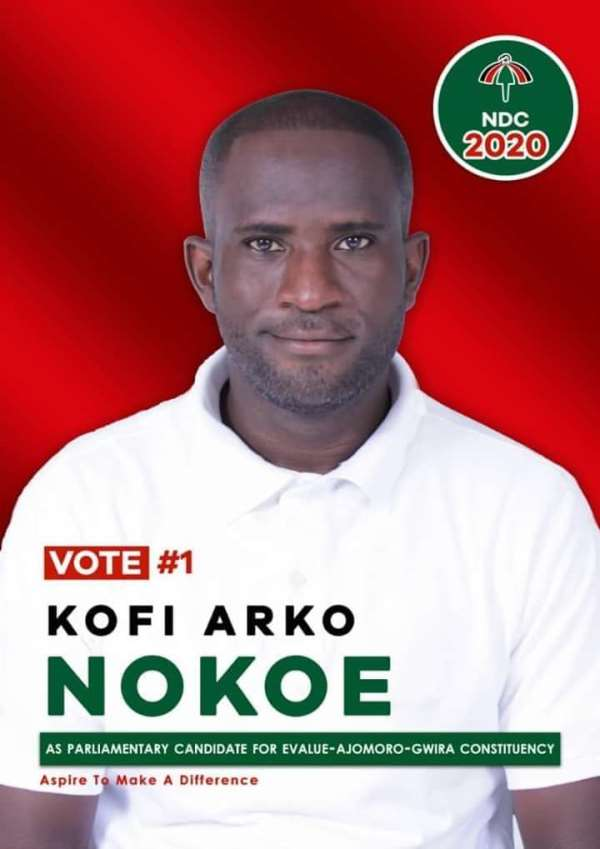 NDC Primaries: Kofi Arko Nokoe Wins Evalue-Ajomoro Gwira Constituency