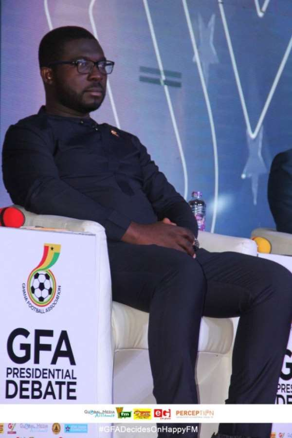Referees Will Receive Part Payment Before Matches If I Win Election – Nana Yaw Amponsah