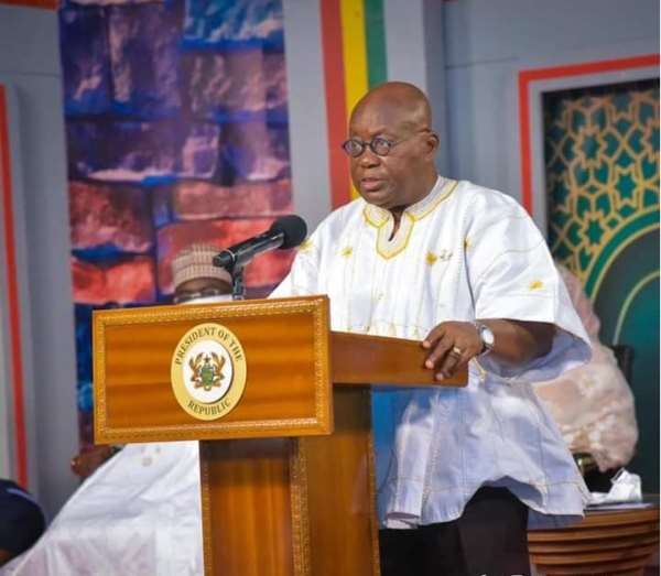 Akufo-Addo Calls for Emergency Action On Creative Arts Bill