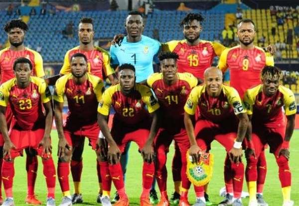 Ghana Black Stars players