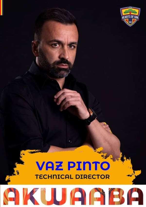 Hearts Of Oak Name Carlos Manuel Vaz Pinto As New Technical Director