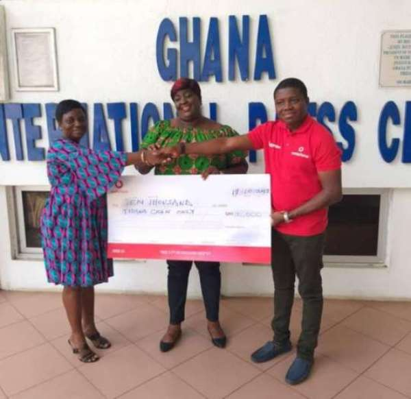 GJA Awards Get Support From Vodafone