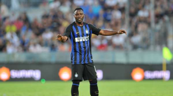 Kwadwo Asamoah To Return For Inter Milan's UCL Tie Against Dortmund