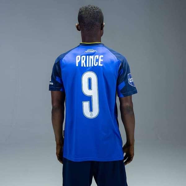 Prince Opoku Agyemang To Wear No.9 At Cape Town City FC