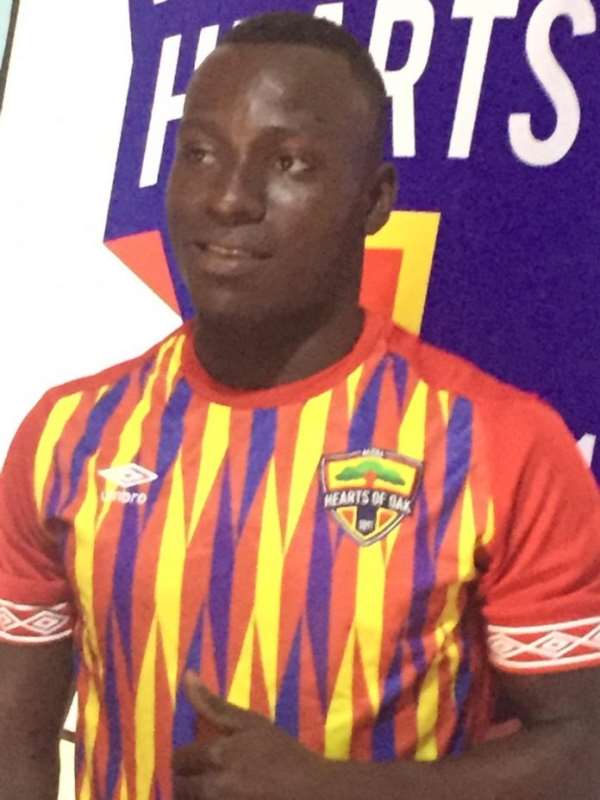 Hearts Of Oak Re-Sign Patrick Razak On A 3-Year Deal