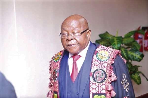 Prof. Mike Aaron Oquaye -Speaker of Parliament