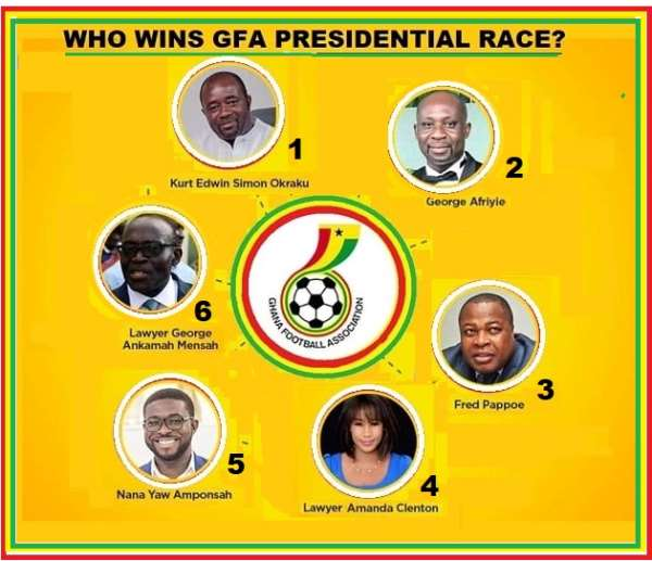 GFA Elections: Mybet.africa Places Odds On Six Aspirants For GFA Presidency