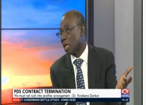 PDS Saga: Don't Rush Into New Concession — Kwabena Donkor