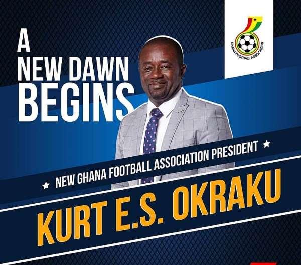 BREAKING NEWS: Kurt Okraku Is The New President Of The GFA