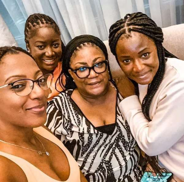 Wife and daughters of President Akufo-Addo