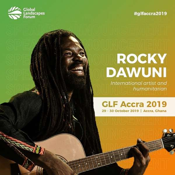 """Rocky Dawuni Takes """"Beats Of Zion"""" To Global Landscapes Forum In Accra"""
