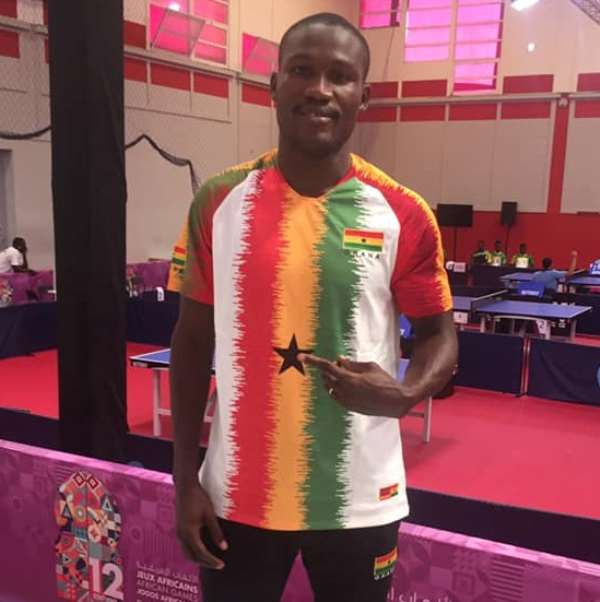 Emmanuel Commey To Represent Ghana At African Table Tennis Top 16 Championship in Abidjan