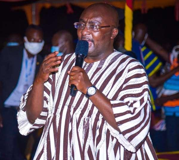 NDC's 'Kwatrika Manifesto' Just For Votes — Bawumia