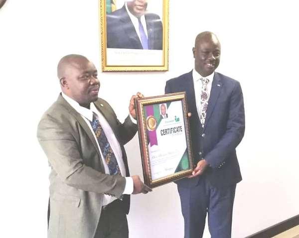Voiceless Media Honours Deputy Managing Director Of ADB