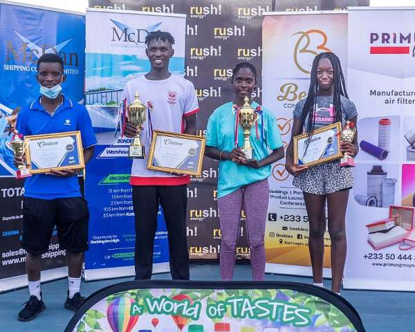 McDan Foundation Tennis Training Matches Climax In Pictures