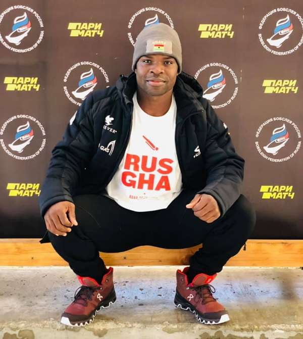 Akwasi Frimpong Excited To Join Russian National Skeleton Team For Training Towards Beijing 2022