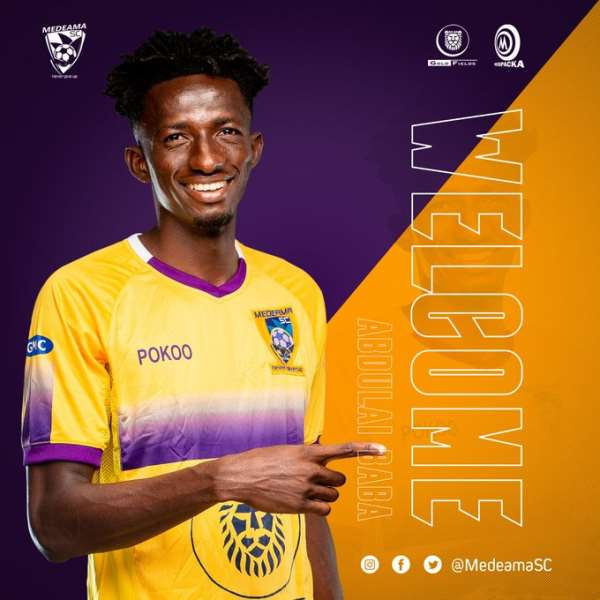 Defender Baba Abdulai Joins Medeama SC On A 3-Year Deal