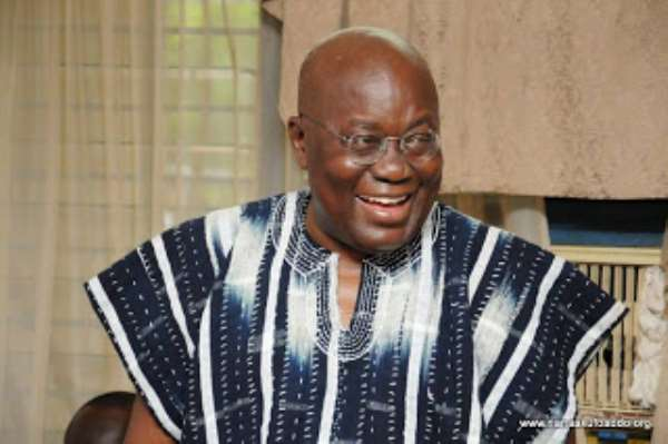 The Ghanaian leader, Nana Akufo-Addo: Photo credit- Nana Akufo-Addo.Org