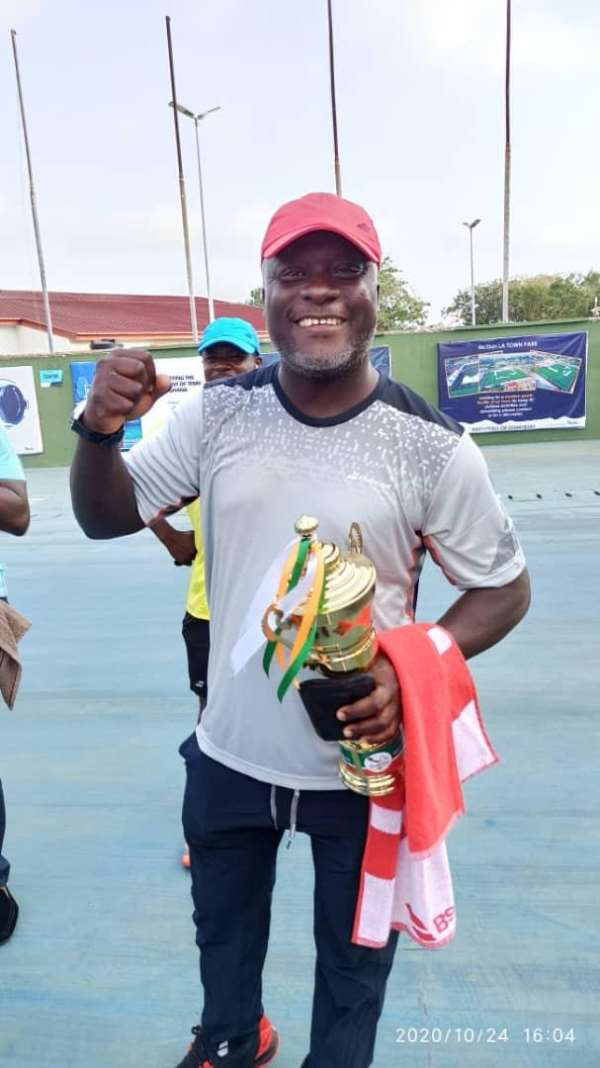 Alfred Mills Wins 'Know Your Level' Invitation Tennis Tourney