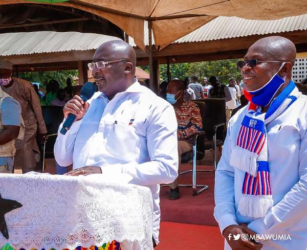 NDC Has Disappointed You For 28 Years; It's Time To Give NPP A Chance — Bawumia To Afram Plains Constituents