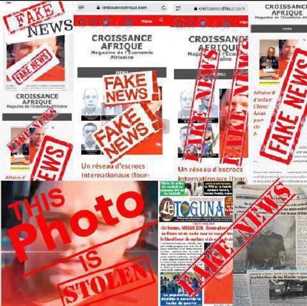 Croissanceafrique.com Report On Hassan Zein Is Bogus