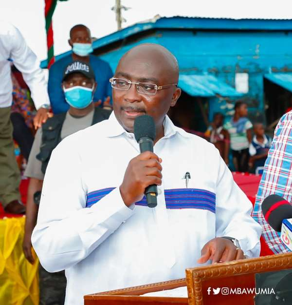 What Equal Opportunity Did You Create For Ghanaians  When You Were President? — Bawumia To Mahama
