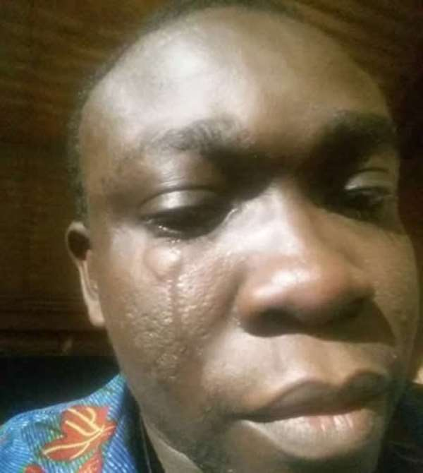 Mahama's Security Attacks Journalist