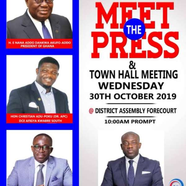 Afigya Kwabre South District To Hold 'Meet The Press' Session On Oct 30