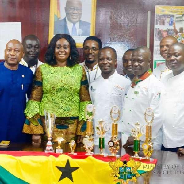 Tourism Minister Commends Ghana Chefs Association