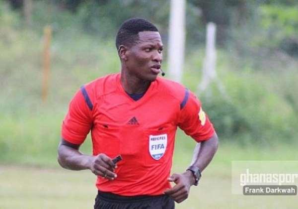 Ghana Referee Daniel Laryea