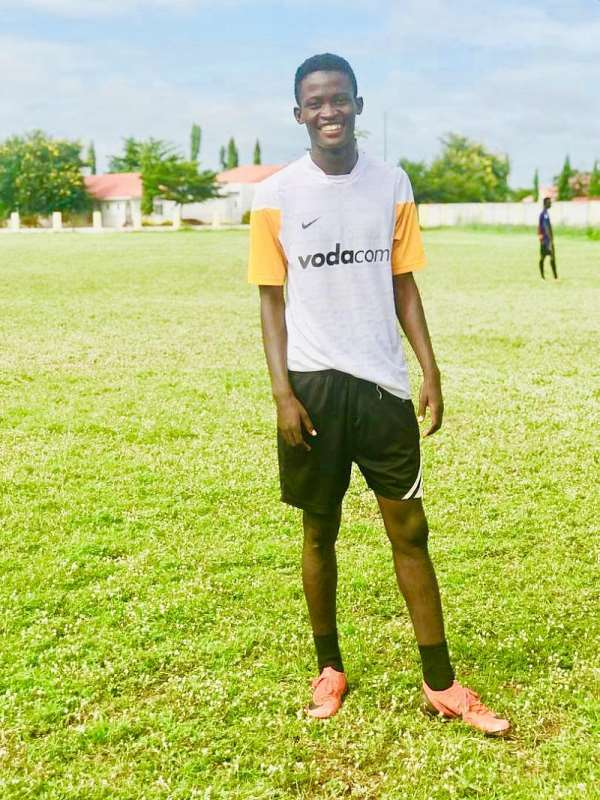 Dreams FC Set To Complete The Signing Of Super Talented Left Back Hassan Mohammed