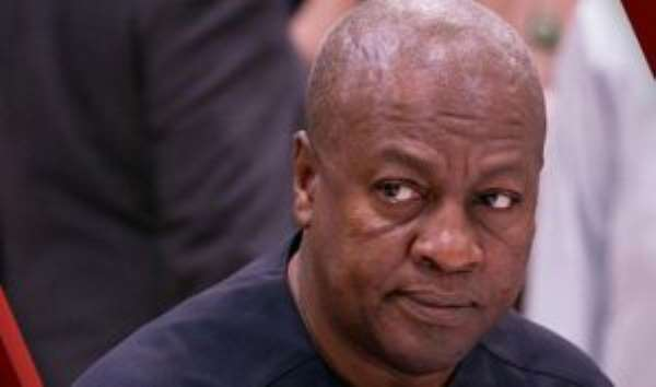 On Mahama's 2020 candidacy: Who  is not scared of the unspeakable dumsor?