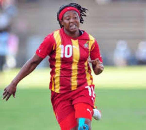 Former Black Queens Captain Adwoa Bayor