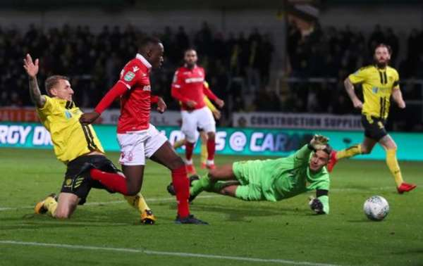 Arvin Appiah Marks Nottingham Forest Senior Debut With A Goal