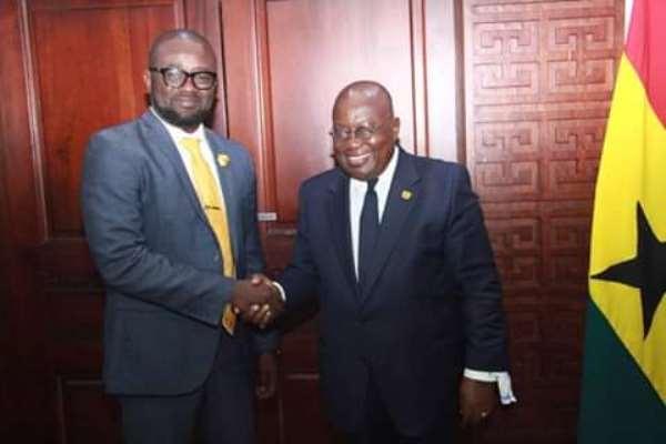 Nana Addo Assures Kurt Okraku Of Gov't Backing