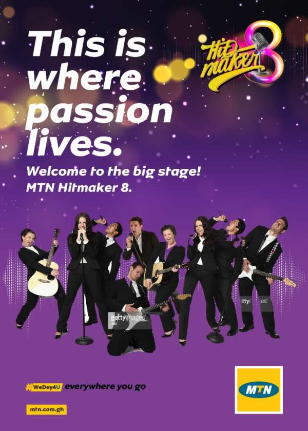 MTN Hitmaker season 8 contestants begin live band performance